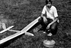 White Trash model airplane plan