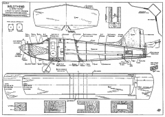 Wildthing 32in bipe model airplane plan