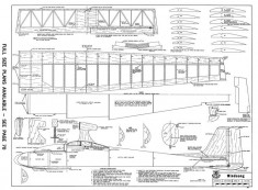 Windsong model airplane plan