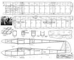 Windward 72in model airplane plan