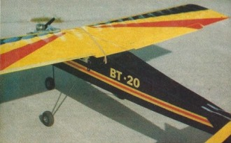 Wings With Ailerons PT 20 - 40 model airplane plan