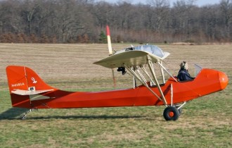 Woody Pusher model airplane plan