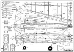 XC-1 AM model airplane plan