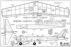 XF-226 RCM-375 model airplane plan