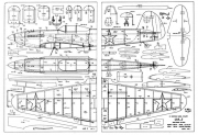 Yak 3 model airplane plan