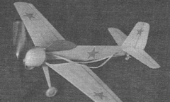 Yak 20 model airplane plan