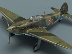 Yak-3 model airplane plan