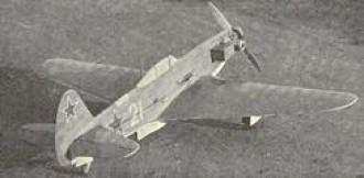 Yak 9P model airplane plan