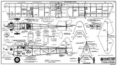 Yankee Mike RCM-1253 model airplane plan