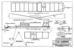 Yardbird Supreme model airplane plan
