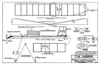 Yardbird Supreme model airplane plan