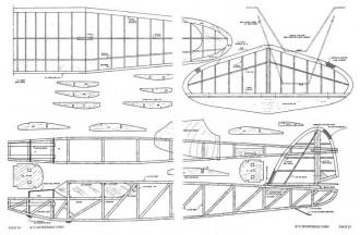 Zephyr model airplane plan