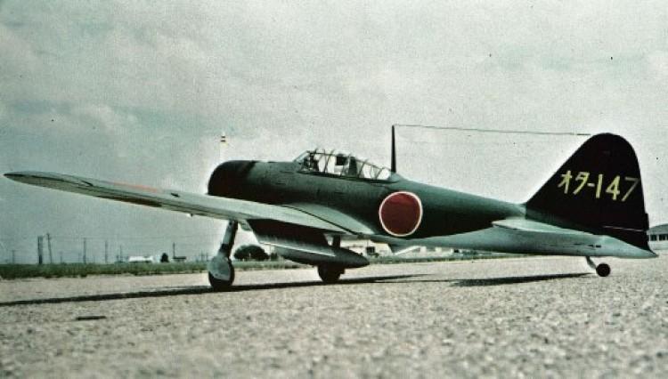 Zero Sen A6M2 model airplane plan