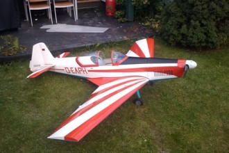 Zlin 526 AFS model airplane plan