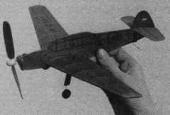 Zlin Z-26 Trener model airplane plan