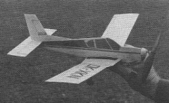 Zlin Z-43 model airplane plan
