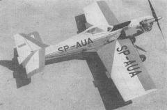 Zlin Z-50L model airplane plan