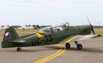 Zlin Z 126 model airplane plan