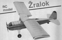 Zralok model airplane plan