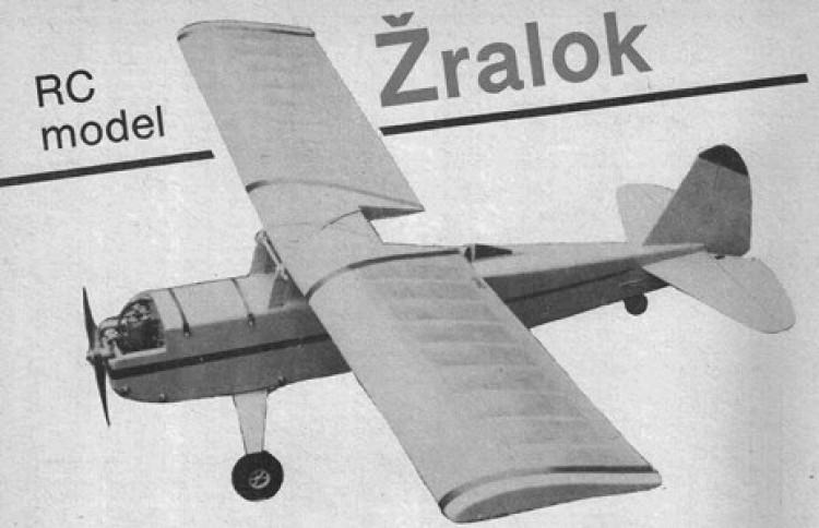 Zralok model airplane plan