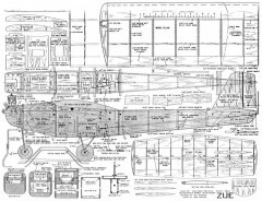 Zue model airplane plan