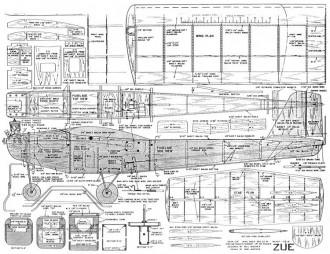 Zue model airplane plan