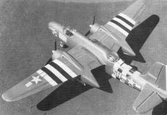 Douglas A-20G Havoc model airplane plan