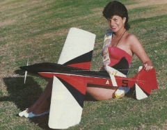 Agujon V model airplane plan