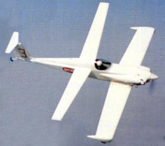 AMS OIL RACE model airplane plan