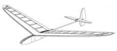 Apogee sport model airplane plan