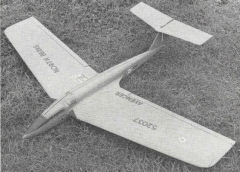 AVENGER model airplane plan