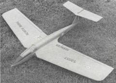AVENGER model airplane plan