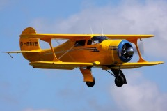 Beechcraft model 17S Staggerwing model airplane plan