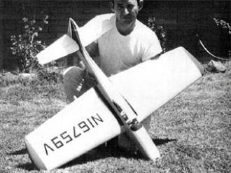 Bellanca Super Viking 300 model airplane plan