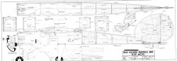 Big-Stick model airplane plan