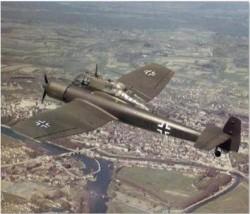 blohm und voss bv-141-b 24IN model airplane plan