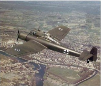 blohm und voss bv-141-b 24IN model airplane plan