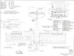 Cessna 120 & 140 model airplane plan