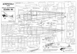 Cessna 180 model airplane plan