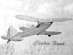 Chicken Hawk model airplane plan