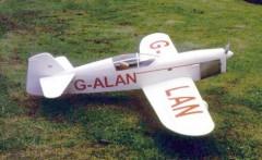 CHORUS GULL model airplane plan