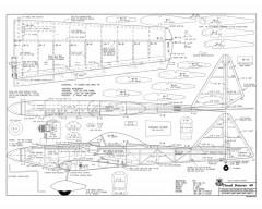 cloud dancer 25 1200mm span model airplane plan
