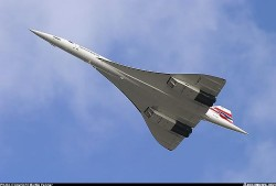CONCORDE model airplane plan