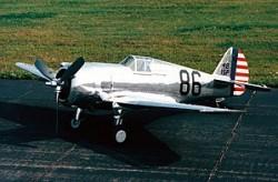 Curtiss Hawk P36A model airplane plan
