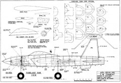 F-14 Foamcat model airplane plan