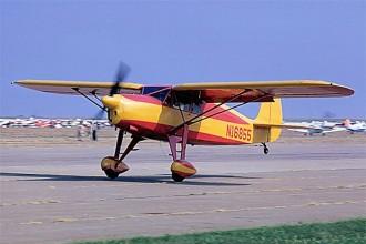 Fairchild F-24 model airplane plan