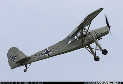 Fieseler FL156 Storch model airplane plan