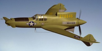 Curtiss-Wright XP-55 Ascender model airplane plan
