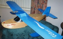 WAWE FLYING BOAT model airplane plan