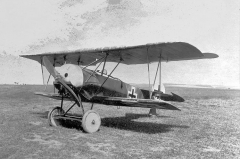 Fokker D6 model airplane plan